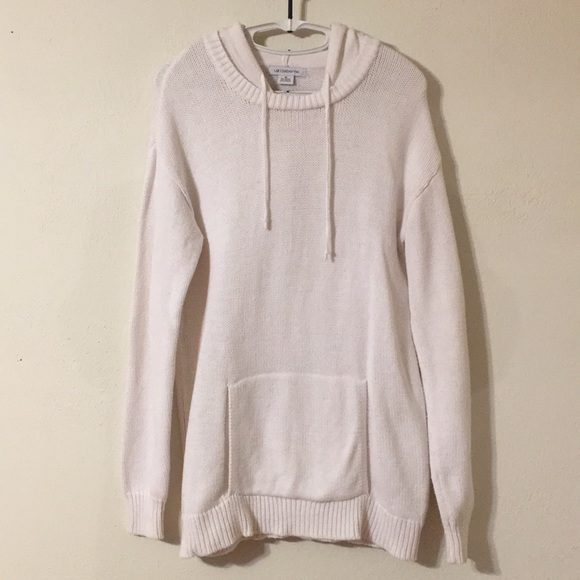 Liz Claiborne Sweaters - Women's size M Pull-over Hoodie Knit Sweater